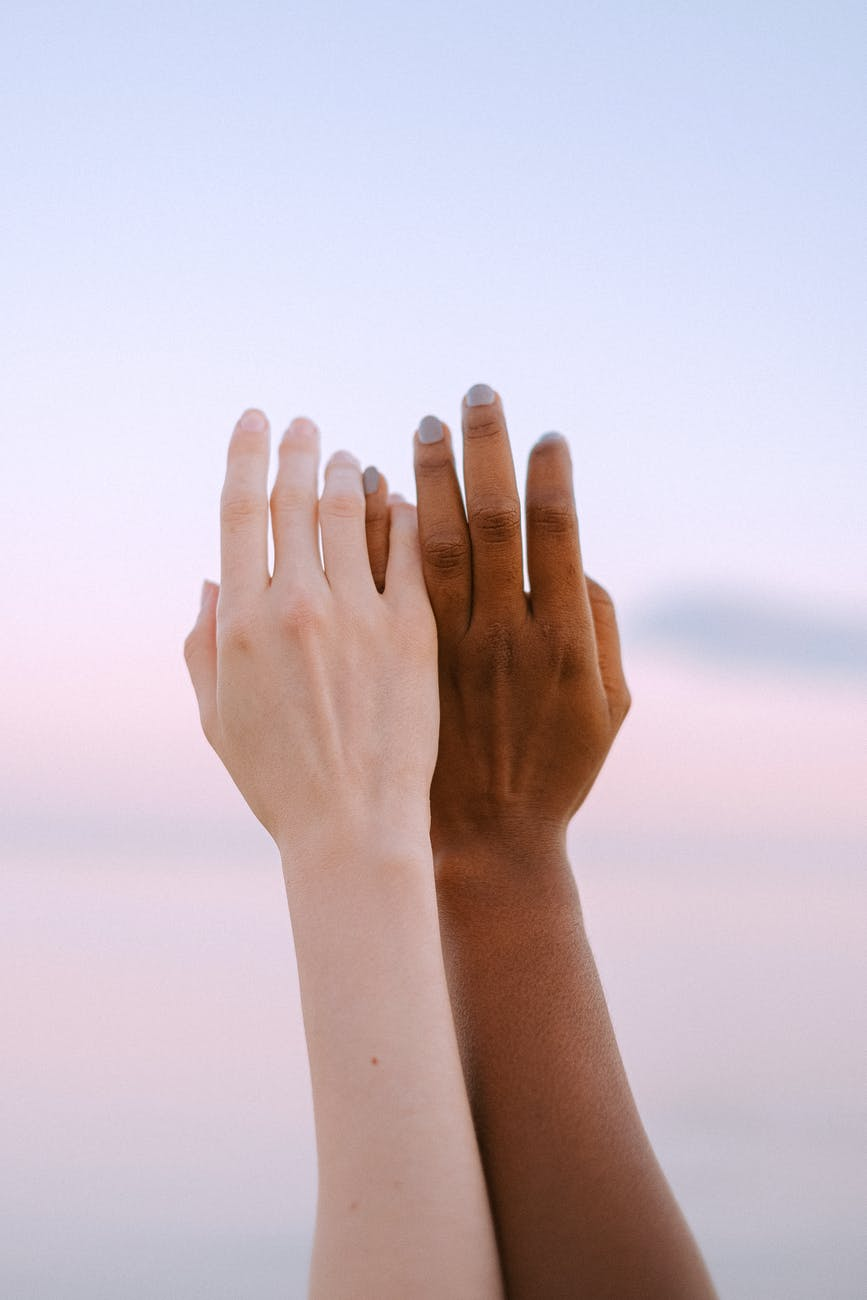 close up photo of people hands